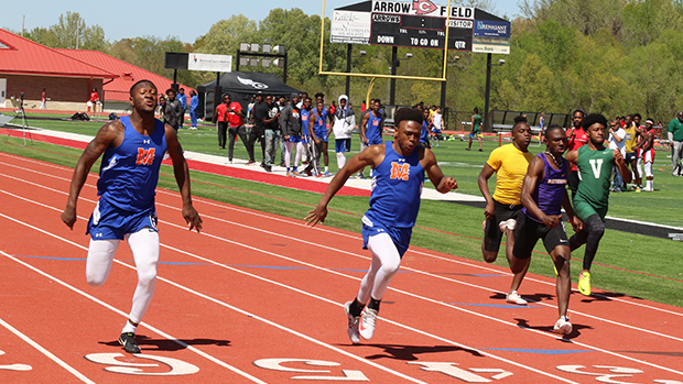 Johnnie McDonald #1 Returning 100 Meter Dash