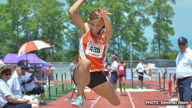 Perkiomen Valley's Christina Warren has won a number of gold medals in her track and field career. She'll be the one to beat once again in the triple jump ...