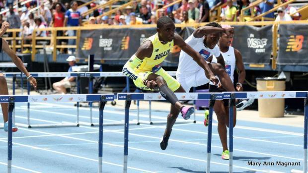 Consolation Prize For Turay's False Start Is A State Record