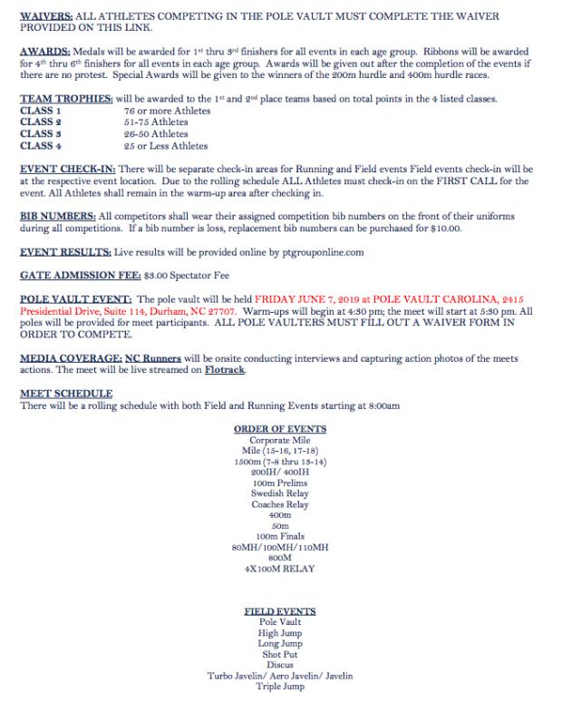 "Bershawn ""Batman"" Jackson Youth Invitational - Meet Information"